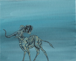 Starved Elephant Small