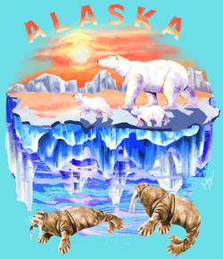 Polar Bears & Happy Walrus