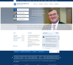 Roythornes Website