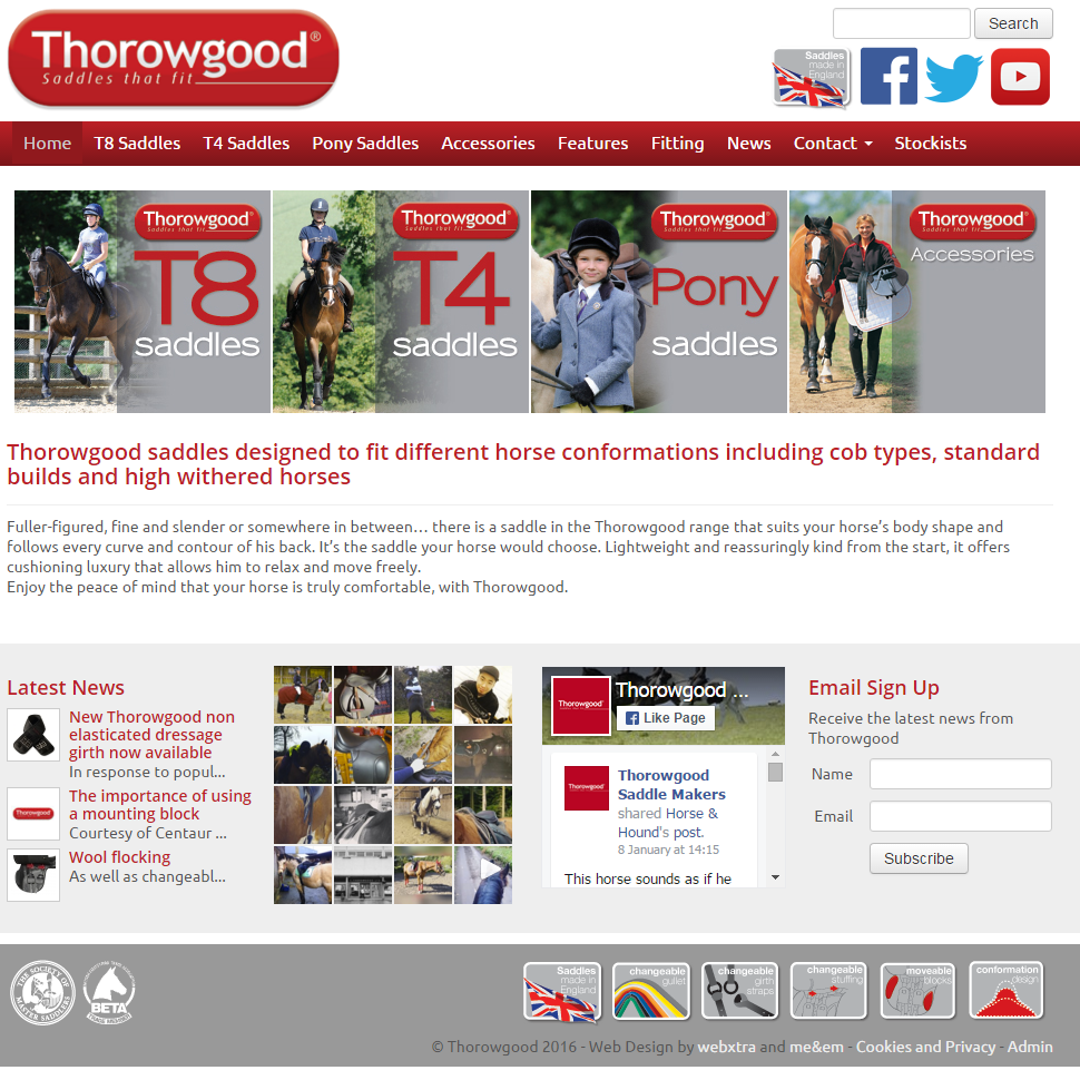Thorowgood Website