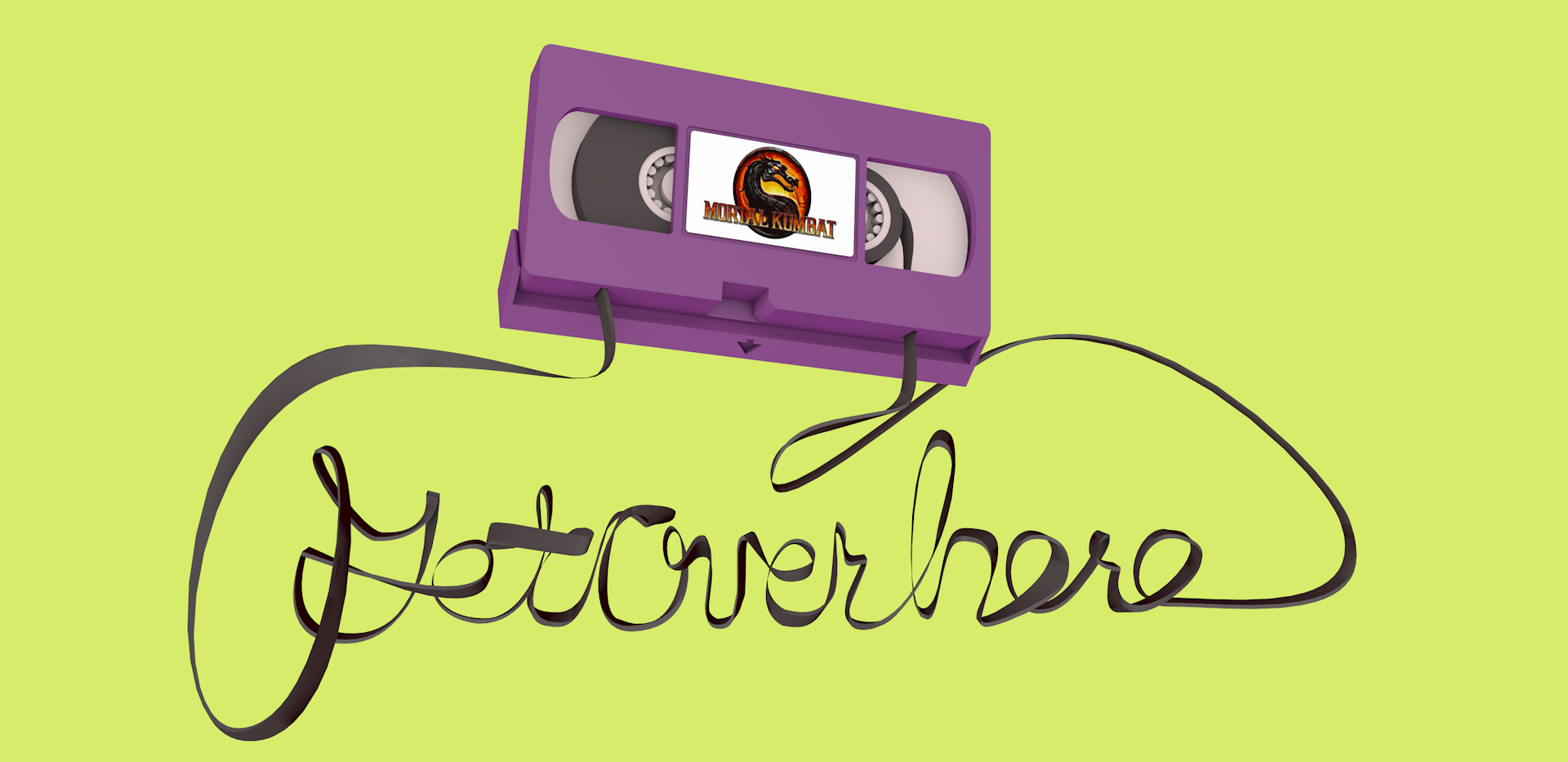 """VHS Tape - Get Over Here"""""""