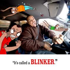 It's called a BLINKER.