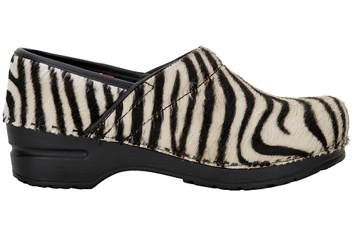 SANITA DANISH CLOGS zebra