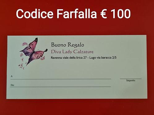 Buono regalo Farfalla €100