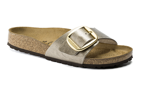 BIRKENSTOCK MADRID BIG BUCKLE taupe
