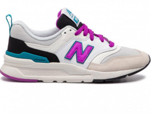 NEW BALANCE 997 DONNAbianco/fucsia