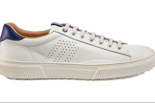 FRAU UOMO sneaker pelle bianco/blu