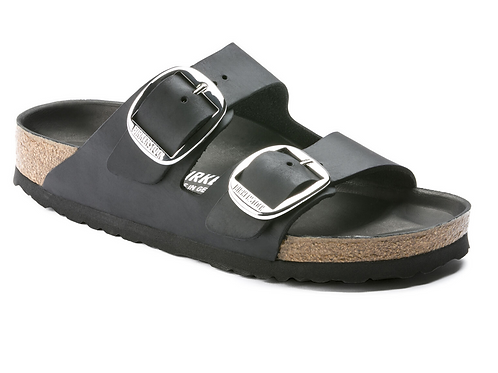 BIRKENSTOCK ARIZONA BIG BUCKLE NERO