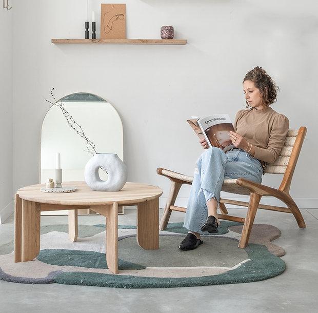 חנות לעיצוב הבית מדפים מעוצבים