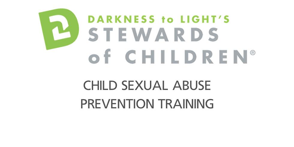 Stewards of Children: Child Sexual Abuse Prevention Training©