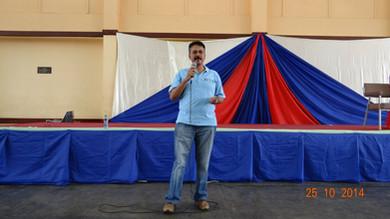 Speaking at APA Insurance, Nairobi