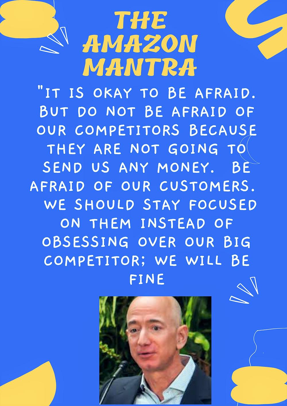 Amazon Mantra on Customer