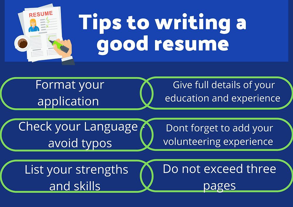 tips-for-writing-good-resume