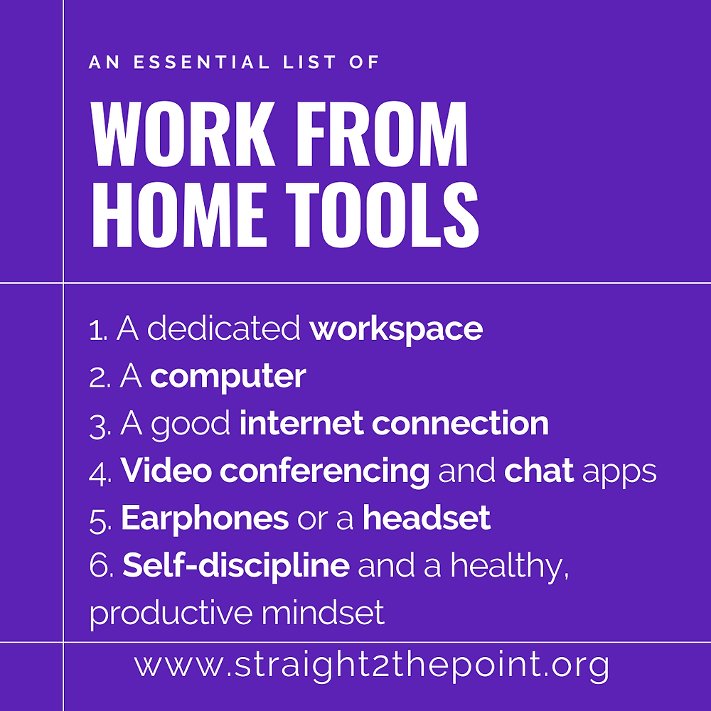 required-tools-for-work-from-home