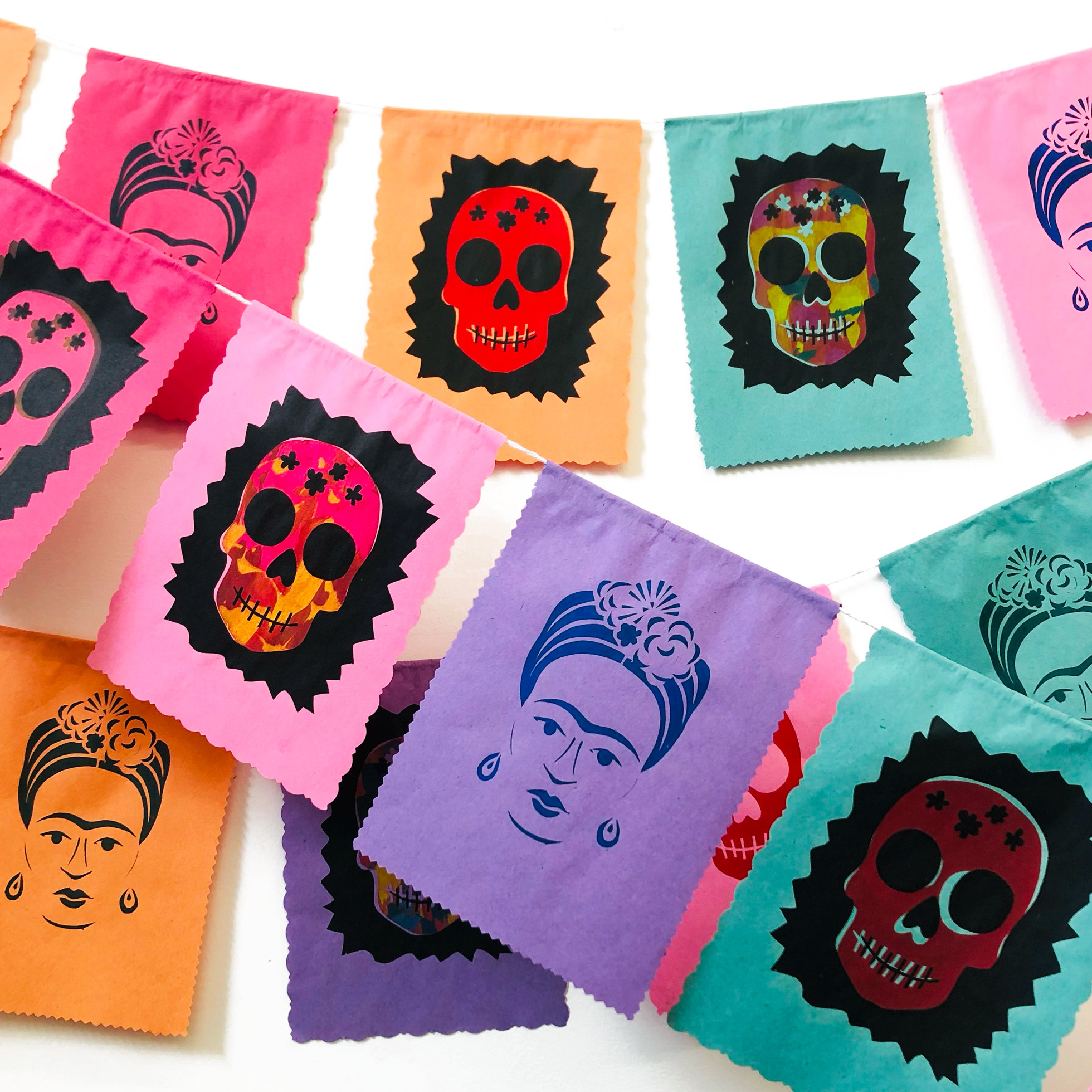 Day of the Dead Paper Garlands (AM)