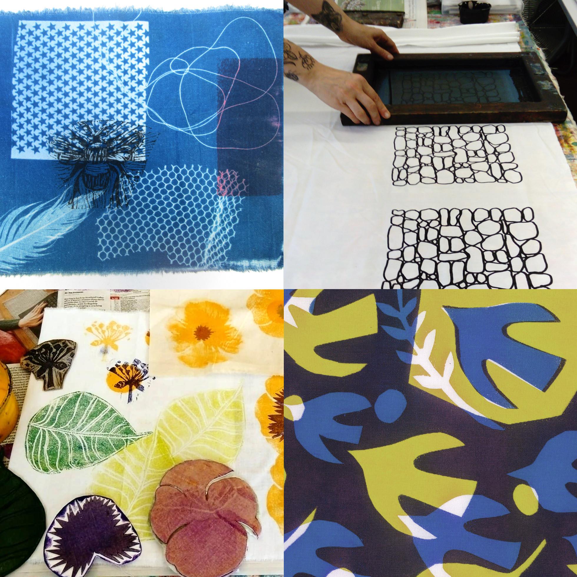 Summer School - Fabric Printing