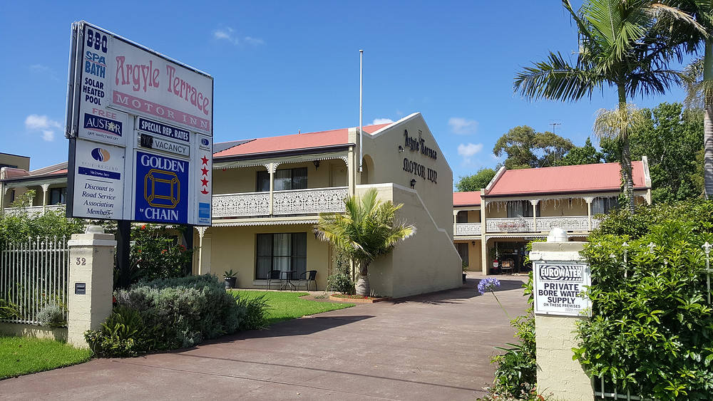 Argyle Terrace Motor Inn / motel Batemans Bay Far South Coast NSW