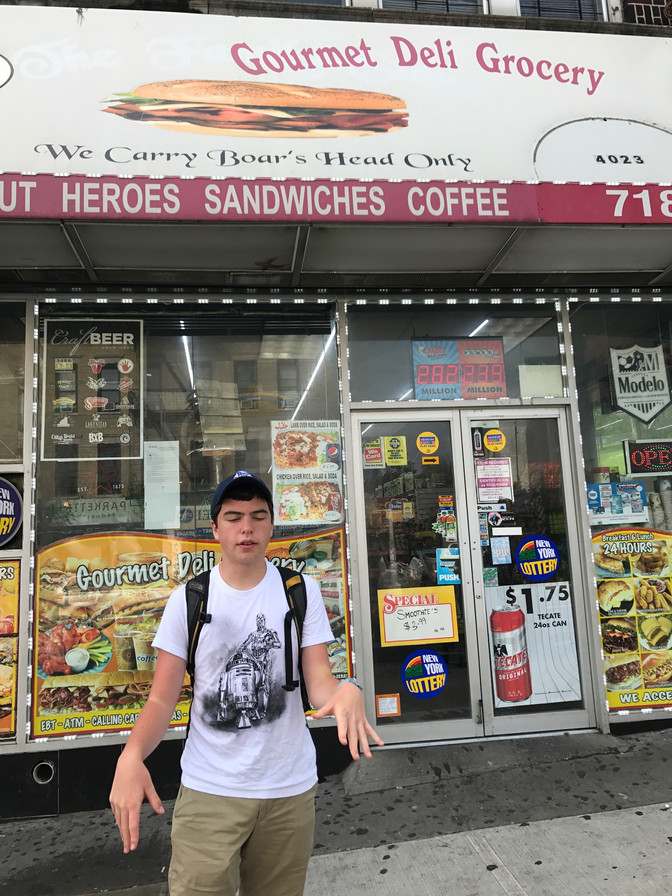 Gourmet Deli Grocery: 4023 5th Ave, Sunset Park, Brooklyn, NY