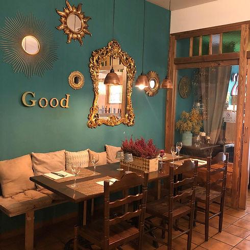 menjador Restaurant El Caliu