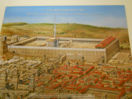 The Temple and the Tabernacle Placemat