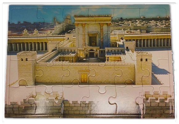 Temple Model Jigsaw Puzzle