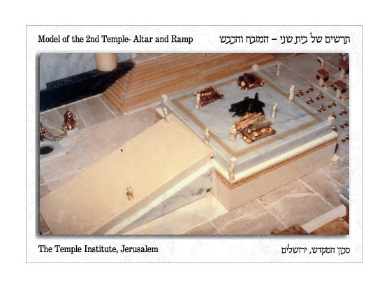 The Outer Altar and Ramp Postcard