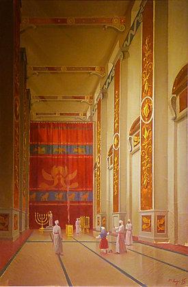 קנבס הקודש בבית המקדש השני