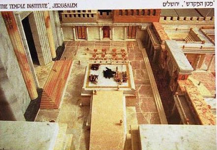 Priestly Courtyard Postcard