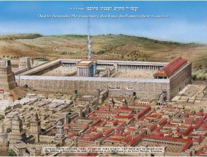 The Western Wall in the Roman Period Postcard