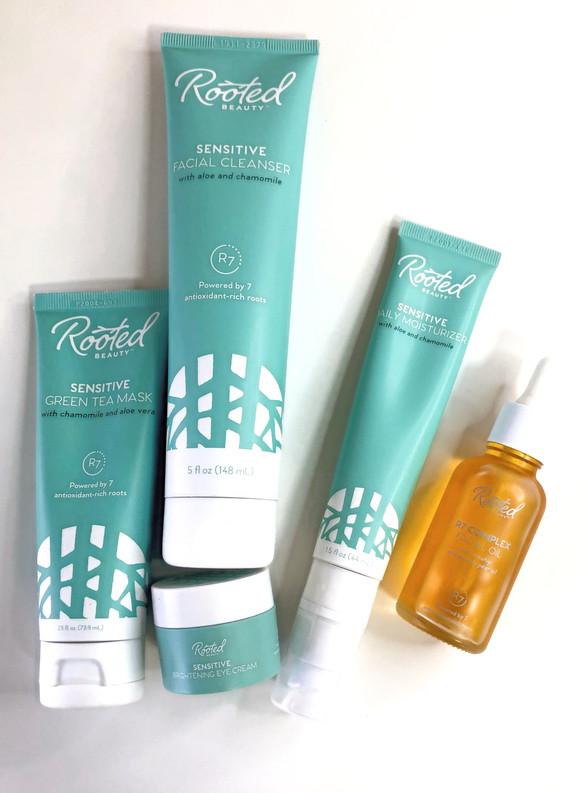 Rooted Beauty Sensitive Skin Regimen