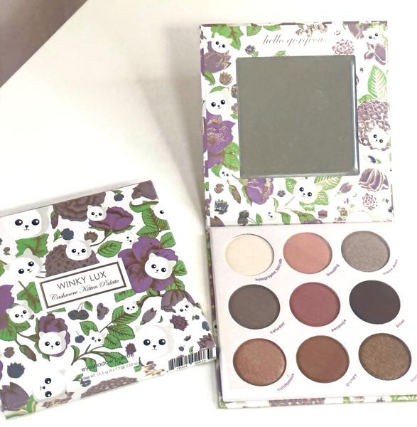 Winky Lux Eye Shadow Palette (Cashmere Kitten)