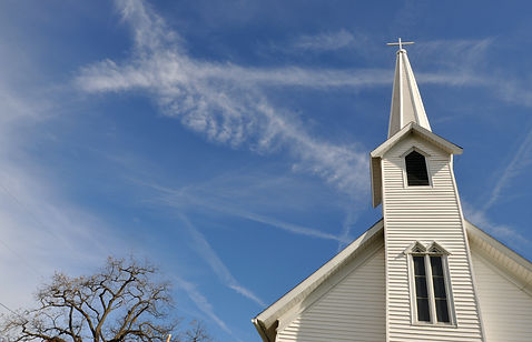 Rural Church, Midwest, Ohio, near Akron,