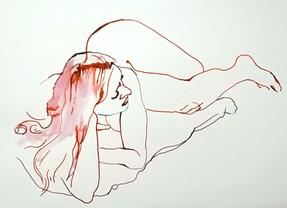 Francoise Lying Pose