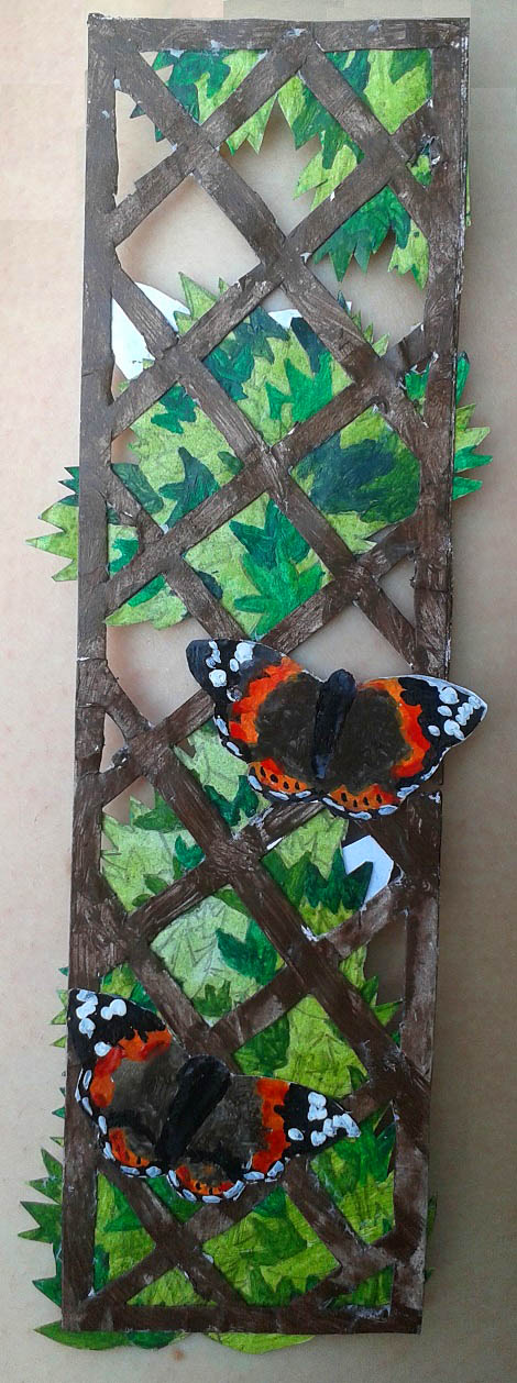 Trellis Bookmark