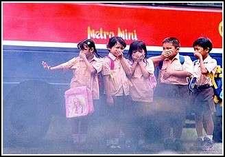 KESEHATAN Anda & Polusi Udara Jakarta