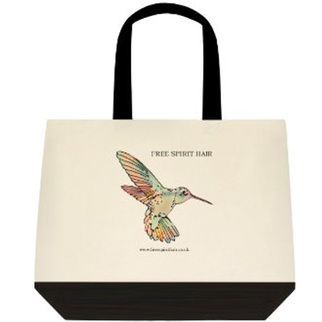 Free Spirit Hair Deluxe Tote Bag