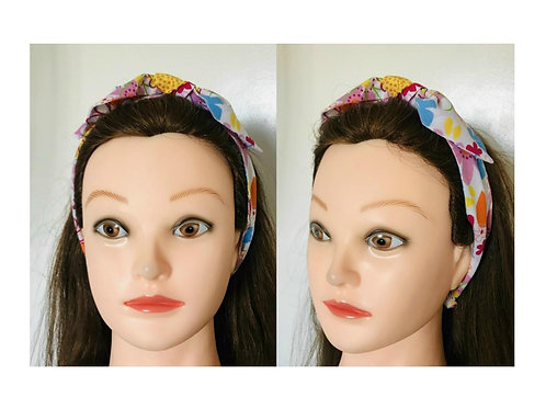 Floral Bow Headbands By Free Spirit Hair