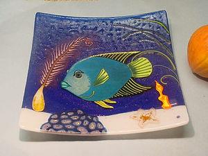 Queen Angelfish Sushi Plate.JPG