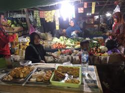 Trip to Indonesian night market