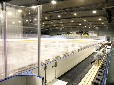 Jäähalli aukeaa ensi viikolla - Ishallen öppnar nästa vecka