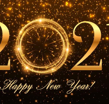 Gott nytt år 2021! -- Hyvää uutta vuotta 2021!