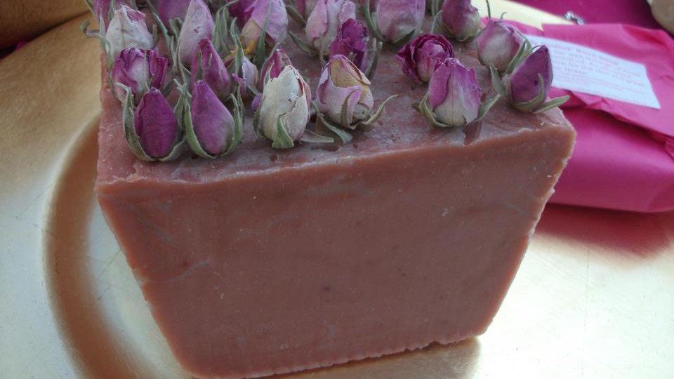 Lady Godiva Rose Soap
