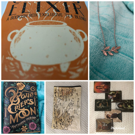 Unboxing a bookish box