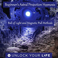 Astral Projection Ball of Light Magnetic Pull