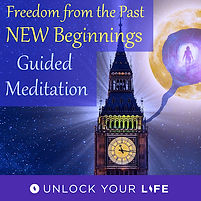 Freedom from the Past and New Beginnings Meditations new years eve big-ben