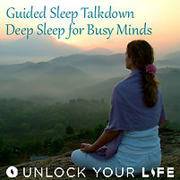 Guided Sleep Talkdown Hypnotherapy for Sleep by Unlock Your Life