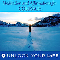 Meditation and Affirmations Couarge