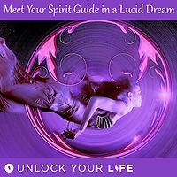 Meet Spirit Guide in a Lucid Dream