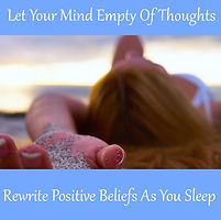 let your mind empty of thoughts sleep meditation