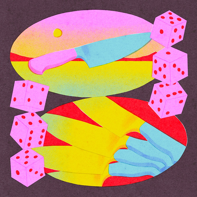 Knife Versus Dice | Emily Lynn Perelman